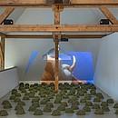 """""""Aus der Fülle"""" Installation, Kunsthalle Wil (SG)"""
