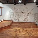 ohne Titel, Ausstellungsansicht, Installation, Galleria Graziosa Giger, Leuk