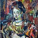 Saskia, nach Rembrandt