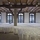 mehlweiss & strohgelb Installation für die Kornschütte Luzern